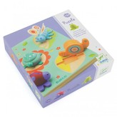 Djeco Tortoise and Friends Wooden Puzzle