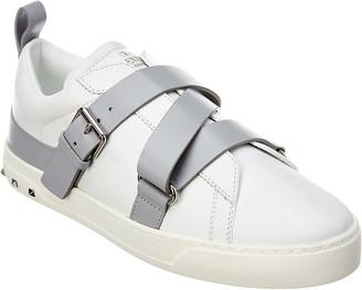 Valentino V-Punk Leather Sneaker