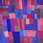 Curley Abstract Wool Pink Area Rug East Urban Home Rug Size: Square 4'