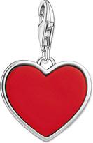 Thomas Sabo Charm club engraved heart silver charm pendant