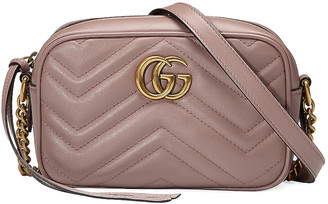 Gucci GG Marmont 2.0 Shoulder Bag in Rose | FWRD