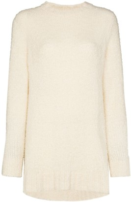 The Elder Statesman Teddy loose-knit jumper