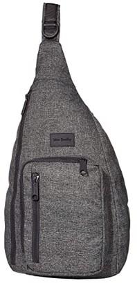 Vera Bradley ReActive Sling Backpack (Gray Heather) Backpack Bags
