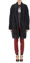 Etoile Isabel Marant Women's Faux-Fur Adams Coat-DARK GREY