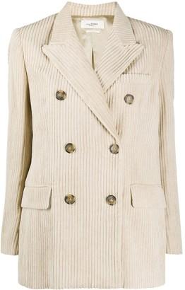 Etoile Isabel Marant Daleyo corduroy double-breasted blazer