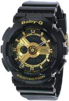Casio Women's Baby-G BA110-1A Resin Quartz Watch
