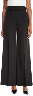 Milly Hayden High-Waist Italian Cady Trousers