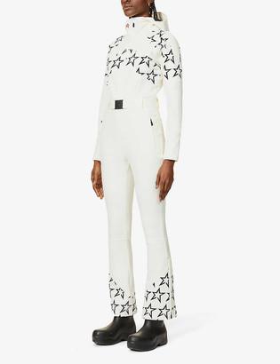 Perfect Moment Tignes star-print stretch-woven jumpsuit
