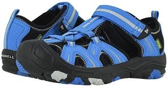 Merrell Hydro (Toddler/Little Kid/Big Kid) (Blue/Black) Boys Shoes