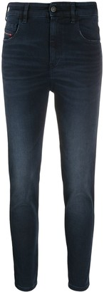 Diesel Slandy super skinny high-waisted jeans