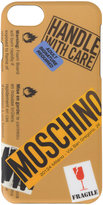 Moschino logo warning sign iPhone 6 case - women - PVC - One Size