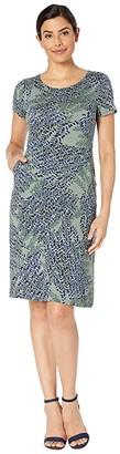 Nic+Zoe Leaf Direction Dress (Multi) Women's Dress