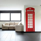 Oakdene Designs British Telephone Box Wall Sticker
