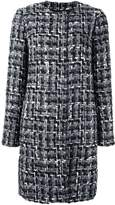 Dolce & Gabbana slim fit boucle coat