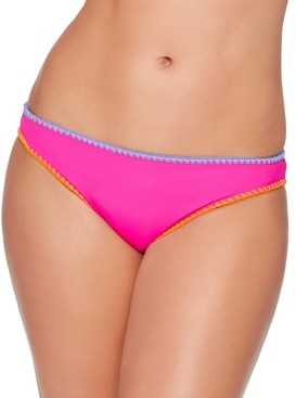 Salt + Cove Juniors' Stitched-Trim Bikini Bottoms, Created for Macy's Women's Swimsuit