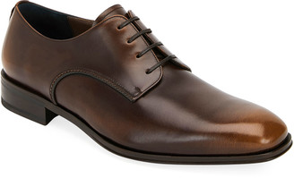 Salvatore Ferragamo Men's Daniel Lace-Up Shoes