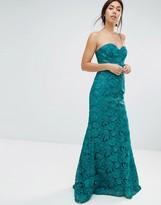 Forever Unique Felicia Embelished Bandeau Maxi Dress