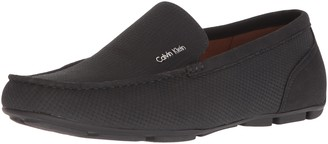 Calvin Klein Men's Manny Nubuck Smooth Driving Style Loafer