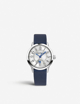 Jaeger-LeCoultre Q3468410 Night and Day RendezVous stainless steel and satin watch