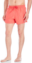Franks Coral Drawstring Swim Trunks