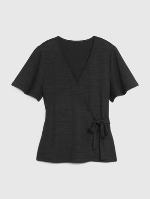 Gap Wrap-Front Top