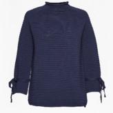 Great Plains Navy Kimara Rib Knit - XS - Blue