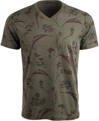 American Rag Men Dry Botanical Graphic V-Neck T-Shirt