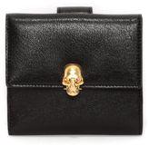 Alexander McQueen Skull Clasp Short Wallet