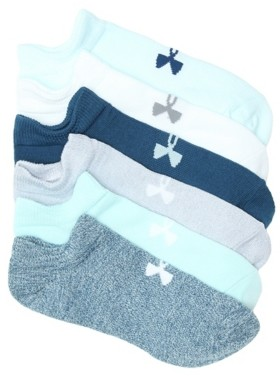 Under Armour Essential Women's No Show Socks - 6 Pack