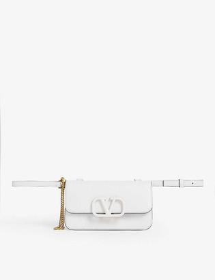 Valentino VRING leather belt bag