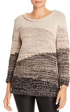 Karl Lagerfeld Paris Ombre Long-Sleeve Sweater