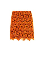 Christopher Kane Floral-lace mini skirt