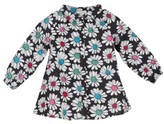 Margherita Toddler Girl's Floral Print Pleated Shirt