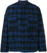 Haider Ackermann tartan pattern jacket - men - Cotton/Rayon - S