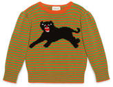Gucci Children's wool sweater with panther