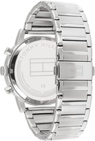 Tommy Hilfiger Tommy Hilfiger Kane Blue Sunray Chronograph Dial Stainless Steel Bracelet Mens Watch