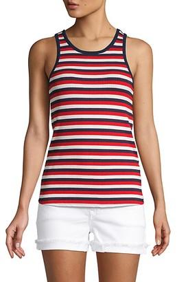 Joie Ruzha Striped Tank Top