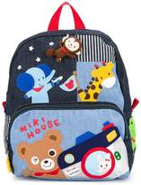 Mikihouse Miki House appliqued backpack