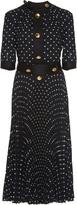 Prada Polka Dot Short-Sleeve Dress