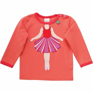 Green Cotton Fred's World by Baby Girls' Hello Ballet T Shirt