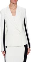 Kimora Lee Simmons Sandy Crepe Striped Jacket
