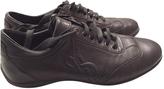 Saint Laurent Black Leather Trainers Palais