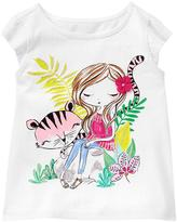 Gymboree Tiger Swing Tee