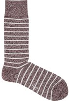 Reiss Grayson Mottled Stripe Socks