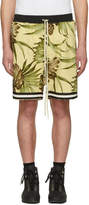 Fear Of God SSENSE Exclusive Yellow Floral Drop Shorts