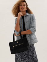 Marks and Spencer Zipped Detail Tote Bag