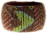 Natasha Accessories Wide Beaded Bangle