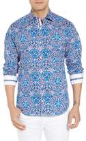 Tailorbyrd Aldrin Regular Fit Print Sport Shirt