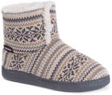 Muk Luks Sean Bootie Slipper - Women's