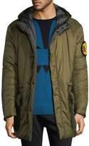 Fendi Men's Pocket Hood Coat